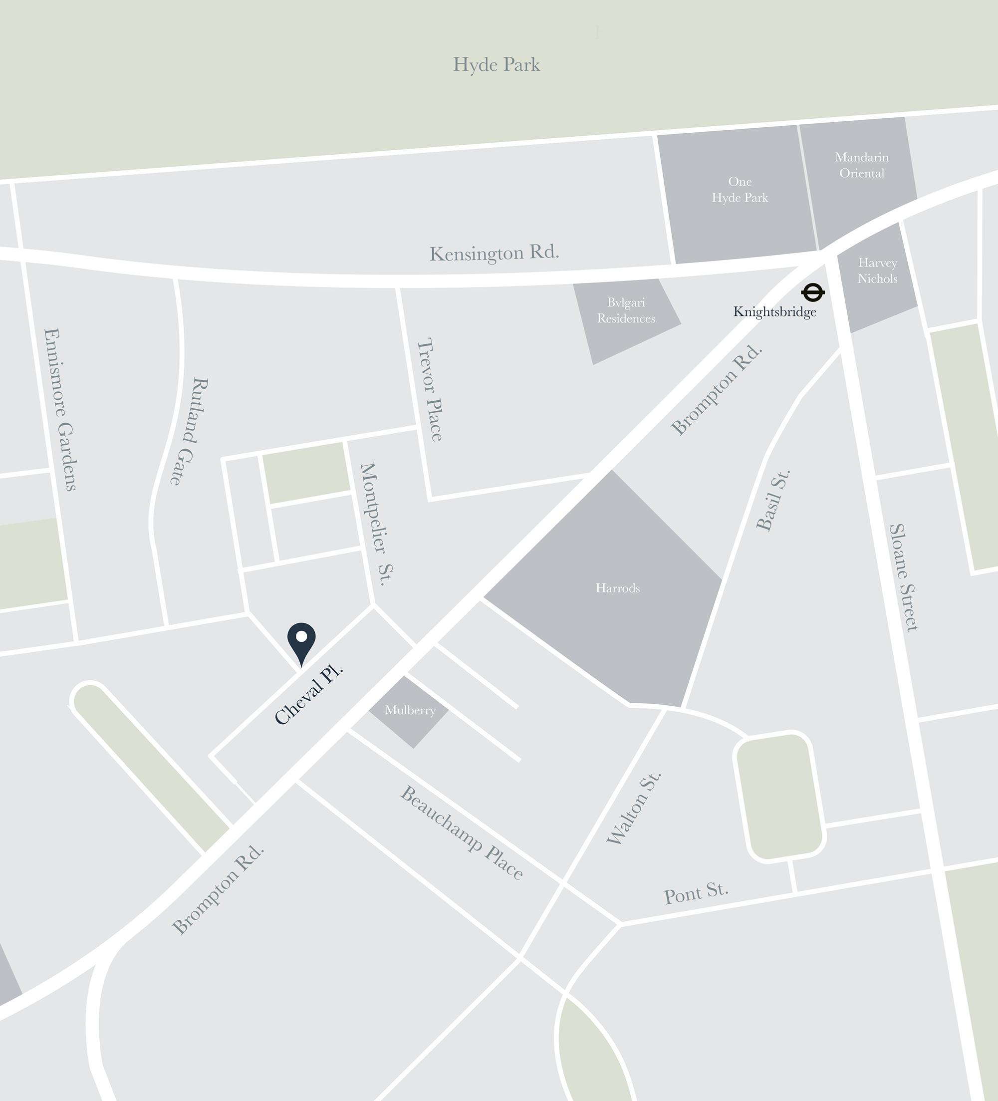 Knightsbridge London Map.Luxury Interior Designers Knightsbridge London Taylor Howes